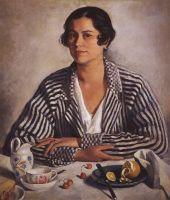 Портрет М.А.Тройницкой.
