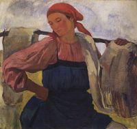 Крестьянка (с коромыслом).