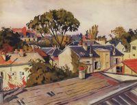 Версаль. Крыши города.