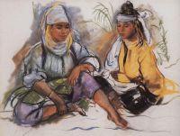 Две марокканки.