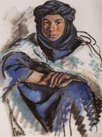 Марокканец в синем.