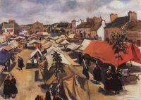 Рынок в Пон-л Аббе.