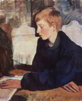 Женя (Портрет сына художницы).