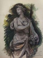 Скульптура в Тюильри.