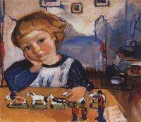 Портрет Жени Серебрякова.