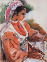 Молодая марокканка.