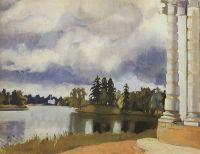 Озеро в Царском Селе.