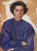 Портрет писателя Г.И.Чулкова.