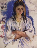 Еврейская девушка из Сефру.