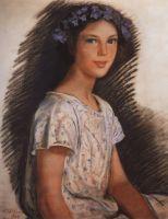 Портрет Веры Макаровой.