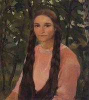 Портрет Е.М.Эдвардс, в замужестве Соколовой.