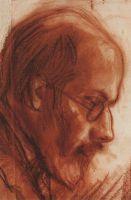 Портрет А.Н.Бенуа.