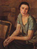 Портрет С.Н.Андрониковой-Гальперн.