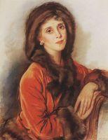 Портрет графини Р. Зубовой.