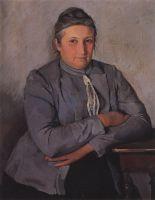 Портрет Е.Н.Лансере, матери художницы.