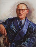 Портрет А.А.Попова.