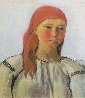 Портрет крестьянки.