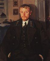 Портрет Б.А.Серебрякова.