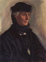 Портрет С.М.Лукомской, урожденной Драгомировой.