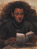 Портрет А.Б.Серебрякова.