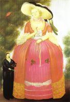 Автопортрет с мадам Помпадур.