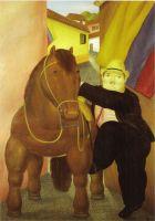Человек и лошадь