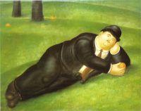 Лежаший человек