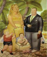 Фрэнк Ллойд и его семья на острове Парадиз