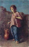 Мальчик, готовящийся к драке