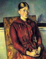 Мадам Сезанн в желтом кресле