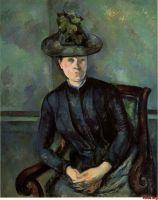 Женщина в зеленой шляпе (Мадам Сезанн)