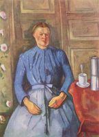 Женщина с кофейником