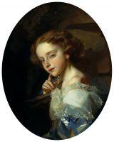Портрет девочки. 1852
