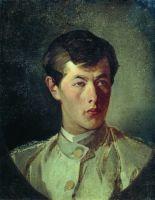 Портрет И.И. Макарова, сына художника. 1880-е
