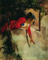 Итальянка на балконе. 1853–1855