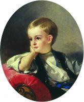 Портрет графа Бобринского ребенком. 1882