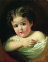 Детский портрет. 1850-е
