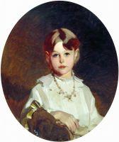 Портрет графини А.С. Шереметевой в детстве. 1880-е