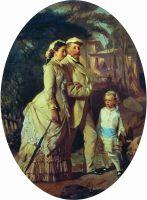 Портрет семьи Черемисиновых. 1882
