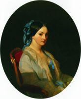 Портрет молодой женщины. 1856