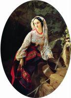 Итальянка у источника. 1855