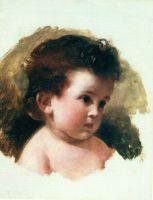 Портрет Е.И. Макаровой, дочери художника. Начало 1870-х