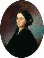 Портрет Н.Д. Хвосчинской. 1866