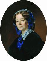 Портрет Ю.Н. Зиновьевой, рожденной Батюшковой. 1869