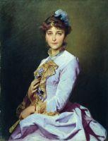 Портрет неизвестной. 1885