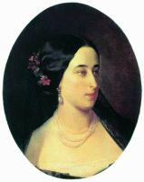Портрет Марии Александровны Гартунг, рожденной Пушкиной. 1860