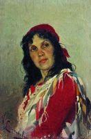 Портрет С.П.Кувшинниковой. 1888-1889