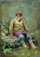Мужик. Около 1890