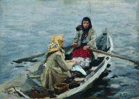 В лодке. 1900-1910