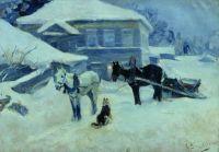 Постоялый двор. 1912